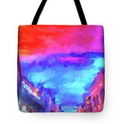 The Walkabouts - Sunset In Chinatown Tote Bag