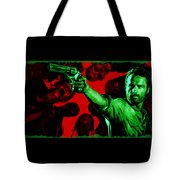 The Walking Red Tote Bag