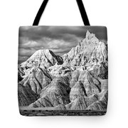 The Wall Black And White Tote Bag
