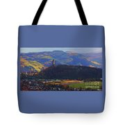 The Wallace Tower Stirling Scotland Tote Bag