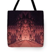 The Walls Of Barad Dur Tote Bag