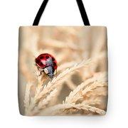 The Wandering Ladybug Tote Bag