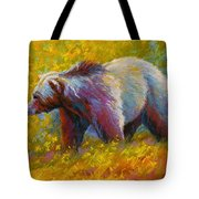 The Wandering One - Grizzly Bear Tote Bag