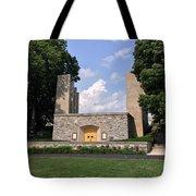 The War Memorial Chapel At Virginia Tech Tote Bag