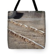 The Warped Railroad Tote Bag