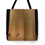 The Washington Monument In Washington Tote Bag