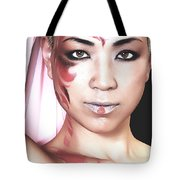 The Watcher Iv Tote Bag