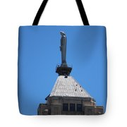 The Watchers Chicago Illinois Architecture Tote Bag