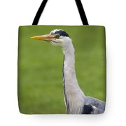 The Watchful Heron Tote Bag