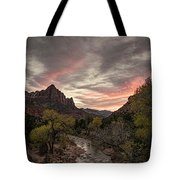 The Watchman Sunset Tote Bag