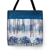 The Water And The Fall Tote Bag