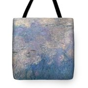 The Water Lilies, The Clouds Tote Bag