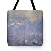The Water Lilies, The Two Willows Tote Bag