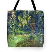 The Water-lily Pond At Giverny  Tote Bag