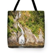 'the Water Of Life' Spring At Doubtful Sound Tote Bag