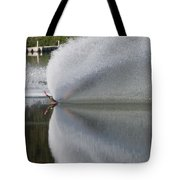 The  Water Skier Tote Bag