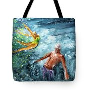 The Water Wall Tote Bag