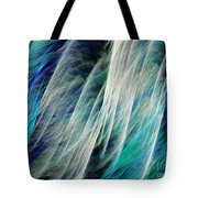 The Waterfall Abstract Tote Bag