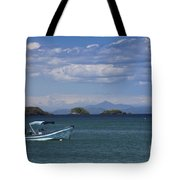 The Waters Of Coiba Tote Bag