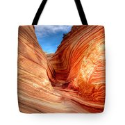 The Wave Eighteen Tote Bag