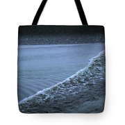 The Wave Of A Bore Tide Traveling Tote Bag