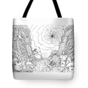 The Wave Of Time And Space Tote Bag