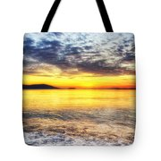 The Waves That Calm Me Tote Bag