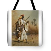 The Way From Sinai To Cairo Tote Bag