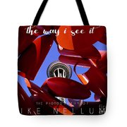The Way I See It Coffee Table Book Cover Tote Bag