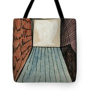 The Way Into This Room.  Surreal Box. Aceo Tote Bag