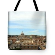 The Way To St. Peter's Basilica Tote Bag