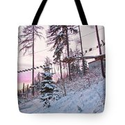 The Way To The Sky 2 Tote Bag