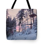 The Way To The Sky V2 Tote Bag