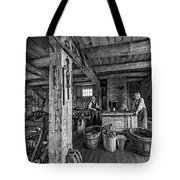 The Way We Were - The Blacksmith 2 Bw Tote Bag