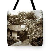 The Wedding Chapel Carmel  Highlands Inn Circa 1968 Tote Bag