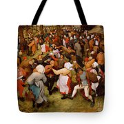 The Wedding Dance Tote Bag by Pieter the Elder Bruegel