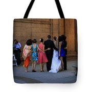 The Wedding Party Detail Tote Bag