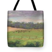The West Cow Pasture Early Morning Tote Bag