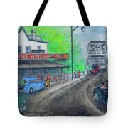 The West End Carryout At The Bridge Tote Bag
