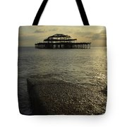 The West Pier Tote Bag