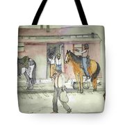 The West. Wild And Women Tote Bag