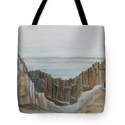 The Whale Watchers At Elephant Rock Tote Bag