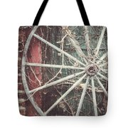 The Wheel And The Ivy Tote Bag