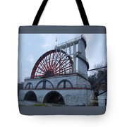 The Wheel Of Laxey, Isle Of Man Tote Bag