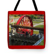The Wheel Park, Laxey, Isle Of Man Tote Bag