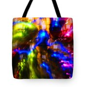 The Whirl Of Christmas Commerce Tote Bag