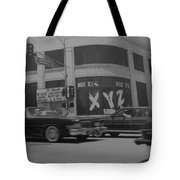 The Whiskey In Black And White Tote Bag
