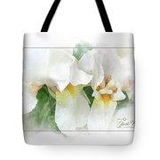 The Whispering Irises Tote Bag