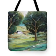 The White Barn Tote Bag