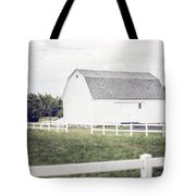The White Barn Tote Bag